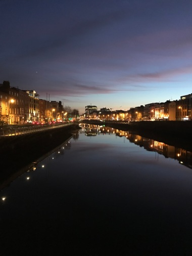 The River Liffey 7:46am