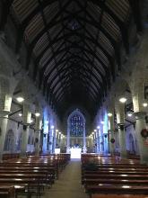 Inside of Saint John's Church